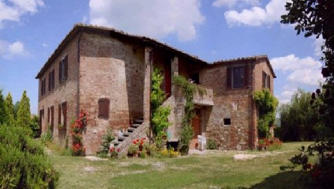 John and Kaivan's farmhouse in Umbria
